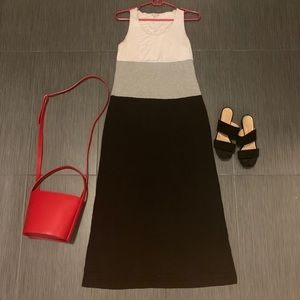Gap Color Block Maxi Dress -XS